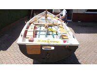 14ft grp sailing dinghy.