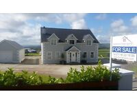 For sale 4 bed detached house and garage on border of Derry/Donegal.