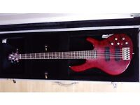 Cort Artisan A5 Bass Guitar. For sale.
