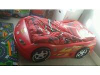 Childs car bed (little tikes)