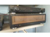 Technics A900s reference amp and su-c800 pre amp