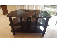 Glass TV Stand for Sale - Excellent Condition!