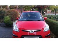 2009 HYUNDAI I10 COMFORT MODEL low mileage