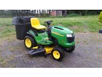"John Deere L120 Automatic Ride on Garden Tractor 20 hp Briggs &Stratton 48"" CUT"
