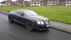 Bentley Continental GT supersport 6.0 W12 550 bhp NOT rs6 rs5 m6 m3 rs4 range rover sport vogue