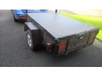 Trailer 6'x4' with Cover and Jockey Wheel