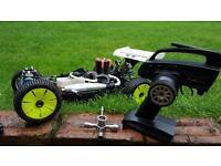 Nitro rc buggy remote control ( hpi kyosho traxxas )