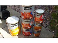 15.5 litres mahogany wood stain