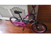 "Pink Angels Kids 12"" Wheel Child's Bike [Very Good Condition]"
