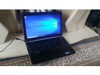 Dell 3rd Gen i3 laptop, 4GB DDR3 RAM, 320GB HD, HD LED Screen, HDMI, Office, Photoshop CS6, Win 10