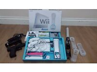 Nintendo Wii complete bundle with Call of Duty MW3