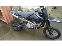 Welsh pit bike 160cc
