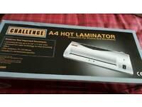 Brand new A4 laminator.