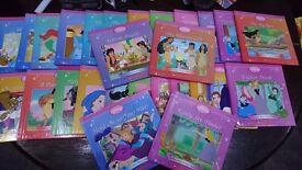 Ful set of 26 disney princess books