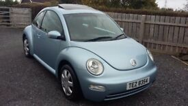2003 VW BEETLE *FULL YEARS MOT* not corsa fiesta mini