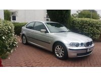 2004 BMW 316 TI SILVER FSH **£1295 AUDI A3 GOLF VW FOCUS MEGANE C4 MAZDA3 ASTRA SIZE CARS*
