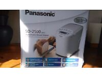 New, unopened Panasonic SD-2500 wxc Bread Maker for sale