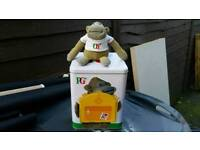 Large PG Tips caddy & monkey