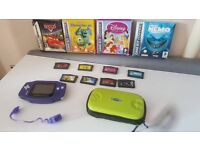 Retro Nintendo Gameboy Advance Console With Boxed Games Game Boy