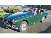 Austin Healey Sprite 1340cc Full restoration