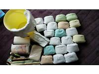 Nappies, reusable Pop-in nappies