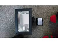 Wired sensor outdoor light.