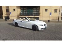 BMW 325I M Sport Convertible Automatic, LOW MILES, FULL SERVICE HISTORY, WHITE
