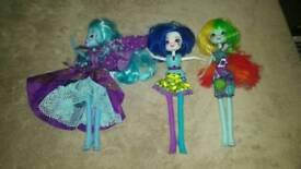 Equestria Dolls Bundle x 3 figures