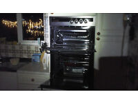 tricity bendix built in double fan oven for sale in immaculate condition..