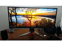 ASUS ROG PG348Q Ultrawide G-Sync 1440p 100hz Gaming Monitor