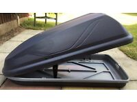 Halfords 250L Roof Box (Good condition)