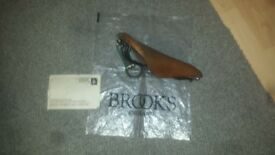 Brooks leather saddles