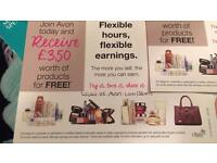 Avon join today with a local sales leader