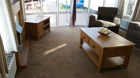 -TOP OF THE RANGE-CARAVAN BY THE BEACH-AT SOUTHERNESS-near dumfries ,penrith,keswick,kippford
