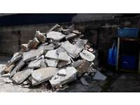concrete blocks/rubble/hardcore