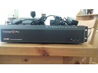 videcon Concept pro ahd recorder and keyboard and joystick new