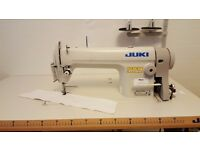 Genuine Juki DDL-8100E Industrial Sewing Machine - Energy Saving Servo Motor