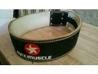 Maximuscle gym exercise belt for sale
