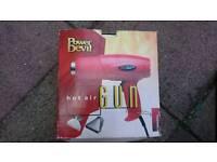 Devil power hot air gun