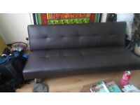 Sofa bed and double bed for sale