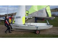 Sailing Dinghy (RS Feva) Good condition, ready to sail. £1750 ONO