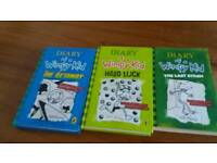 Diary of the Wimpy kids Book