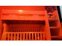 Highsleeper Bunk bed with one materres
