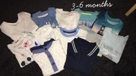 Boys tops size 3-6 months