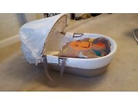 Mamas and Papas moses basket - excellent condition