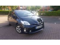 TOYOTA PRIUS FULLY LOADED MODEL PCO VALID ONE COMPANY OWNER FROM NEW WARANTED MILES UK CAR HPI CLEAR