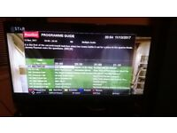 SEIKI 50 Inch Smart TV Built in HD New Condition 8 Months Old