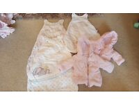 Baby girls immaculate condition clothing bundle newborn/0-3 and 3 to 6 months