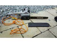 TITAN TTB355CHN Powerful Electric Chainsaw