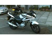Honda CBF125cc (not Yamaha, Suzuki nor Kawasaki)